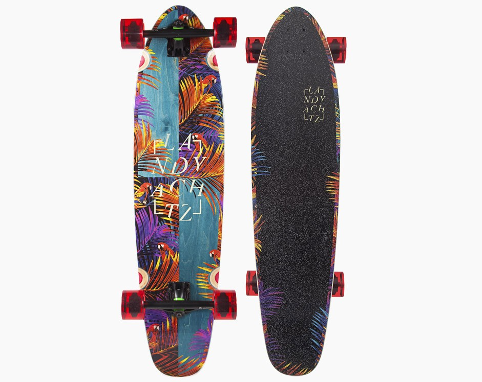 37″ Landyachtz Maple Ripper Tropical Nights
