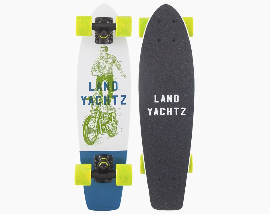 24″ Landyachtz Dinghy Ghost Ride