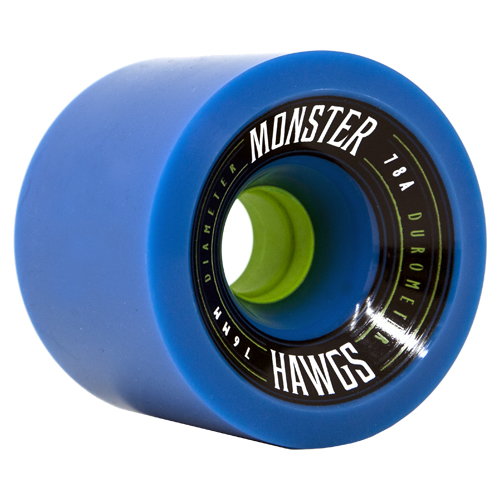 Комплект коліс для лонгборду Landyachtz Monster Hawgs 76mm/78a