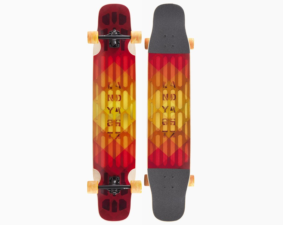 45,5″ Landyachtz Hollowtech Stratus Standard Flex Red