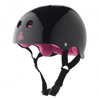 Шолом Triple Eight Brainsaver Glossy Helmet with Sweatsaver Liner