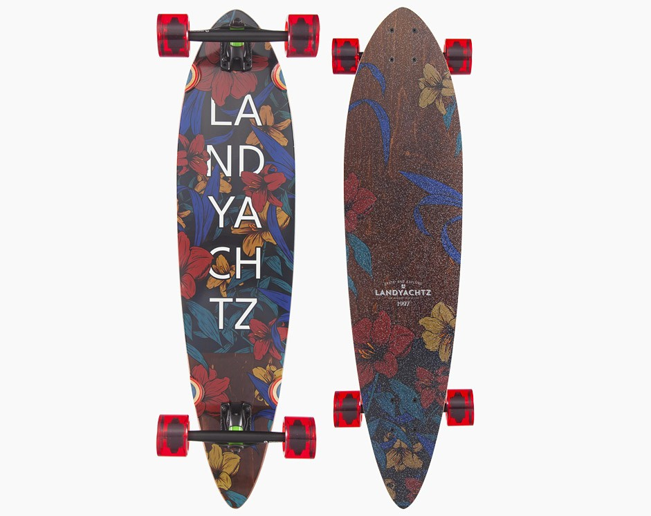 36″ Landyachtz Maple Chief Floral Лонгборд