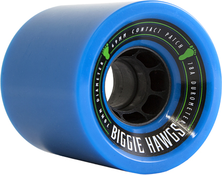 Комплект коліс для лонгборду Landyachtz Biggie Hawgs 70mm/78a